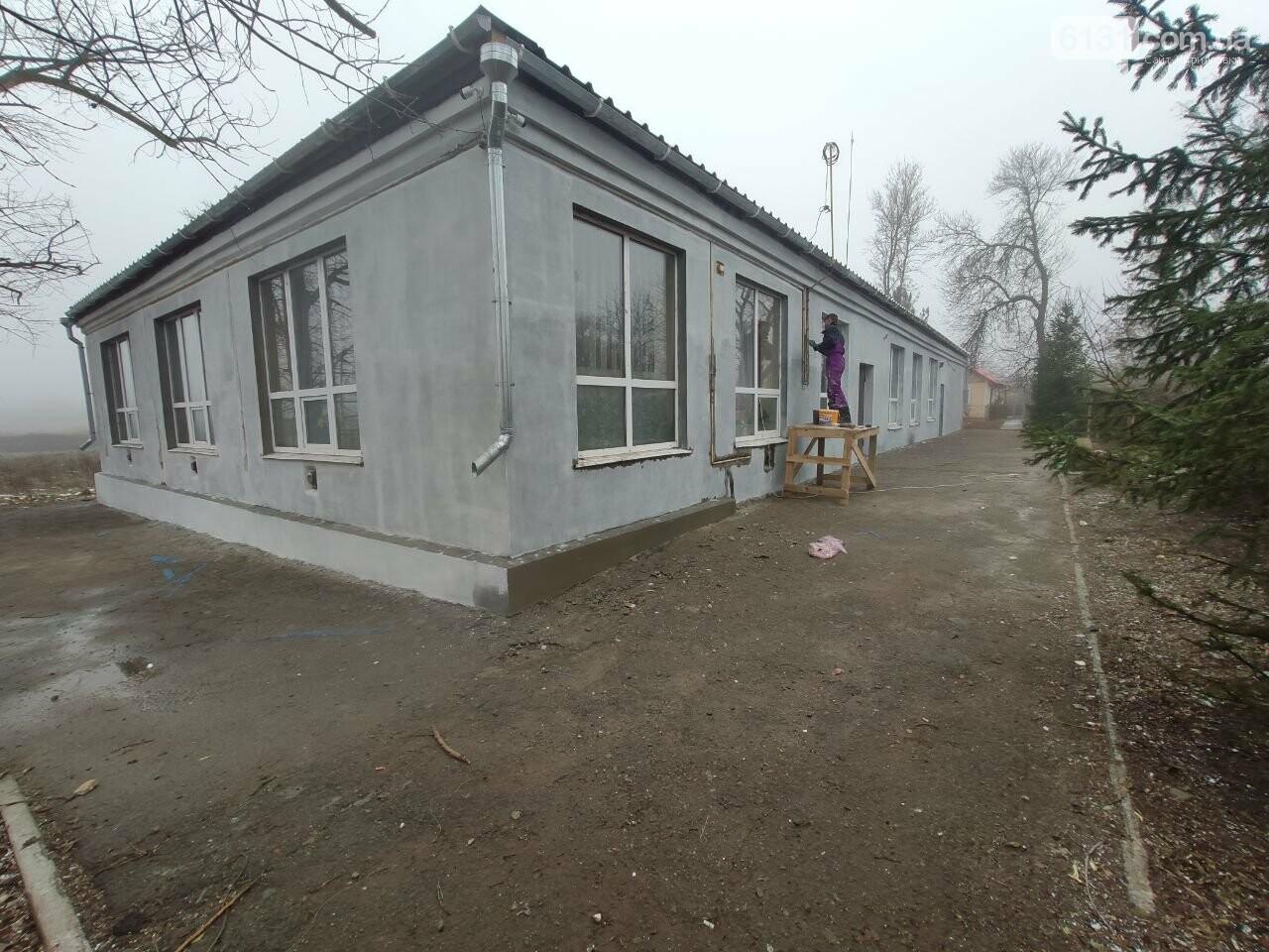 Завершена реконструкция фасадной группы Дома Культуры в поселке Роза, фото-13