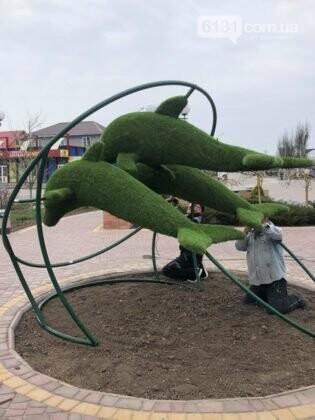 У Кирилівці облаштовують нову інсталяцію, фото-1