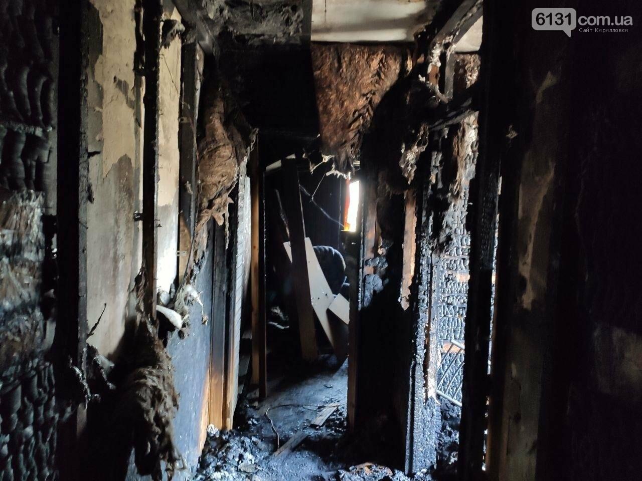 У селі Володимирівка у багатоповерхівці сталась пожежа: травми зазнала жінка, фото-2