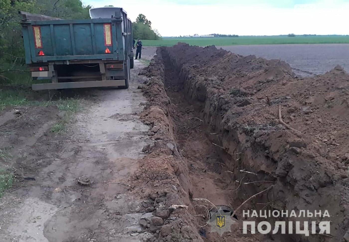 На території Якимівського району затримали крадіїв труб системи зрошення, фото-2