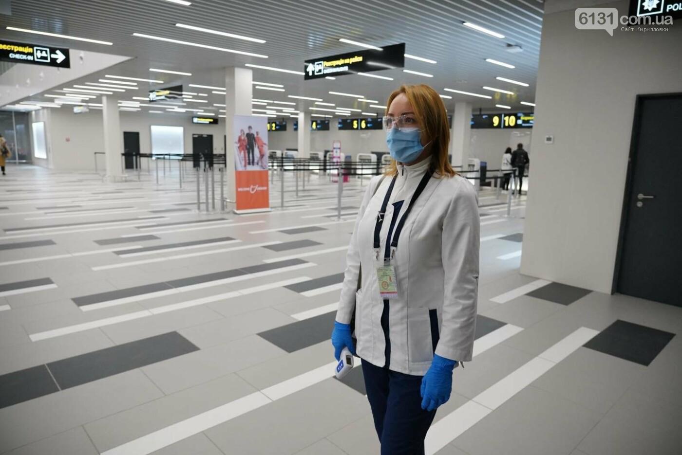 Новый терминал Запорожского Международного аэропорта отправил первый рейс, фото-4