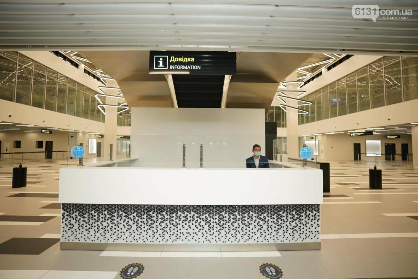 Новый терминал Запорожского Международного аэропорта отправил первый рейс, фото-3