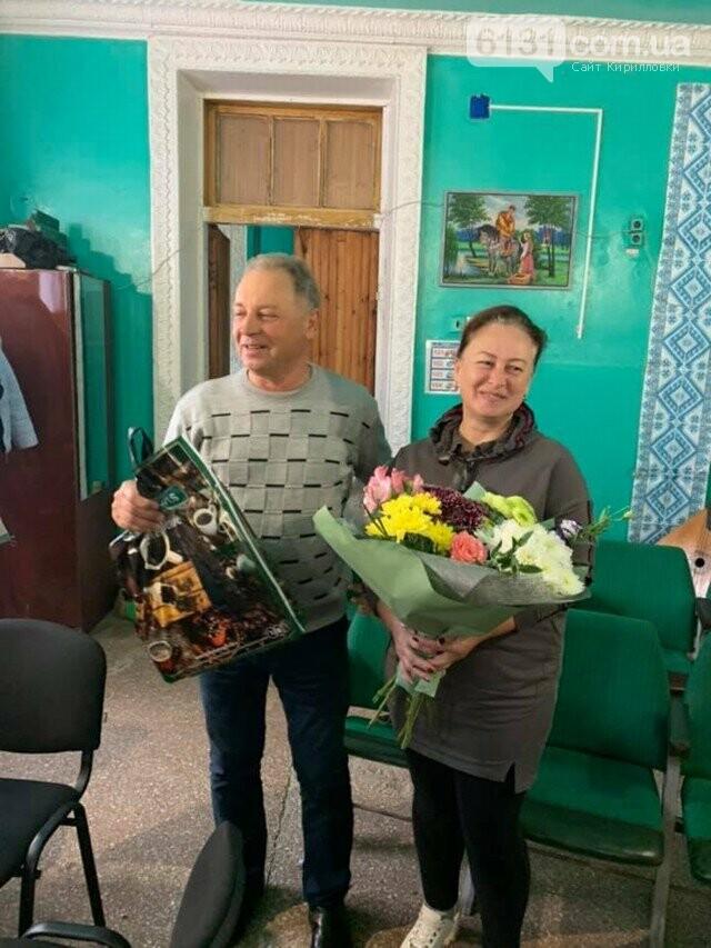 Працівники закладів культури Кирилівської ОТГ приймали вітання зі святом, фото-2