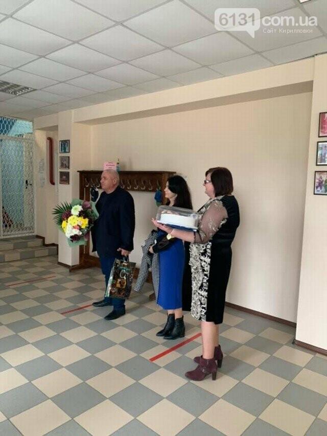 Працівники закладів культури Кирилівської ОТГ приймали вітання зі святом, фото-7